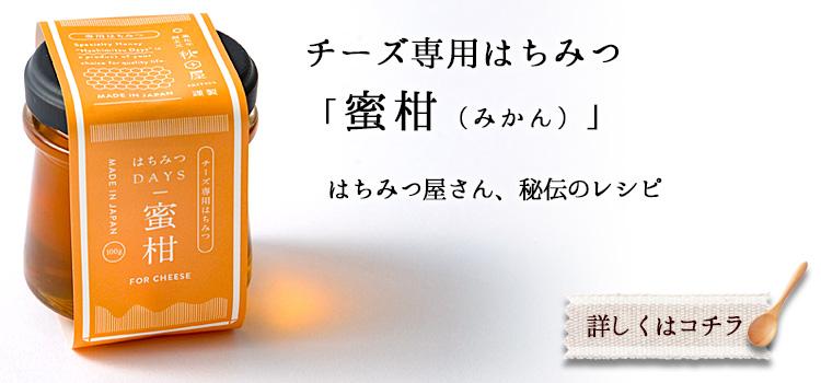 チーズ専用はちみつ 蜜柑(みかん)