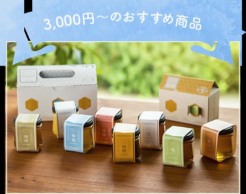 3,000円~のおすすめ商品 はちみつDAYSギフトBOX6種類セット(雪白,檸檬,珈琲,楓,蜜柑,加哩)
