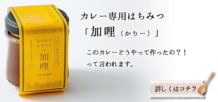 カレー専用はちみつ 加哩(かりー)