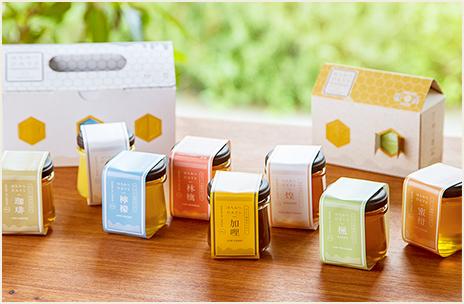 はちみつDAYSギフトBOX6種類セット(雪白,檸檬,珈琲,楓,蜜柑,加哩)